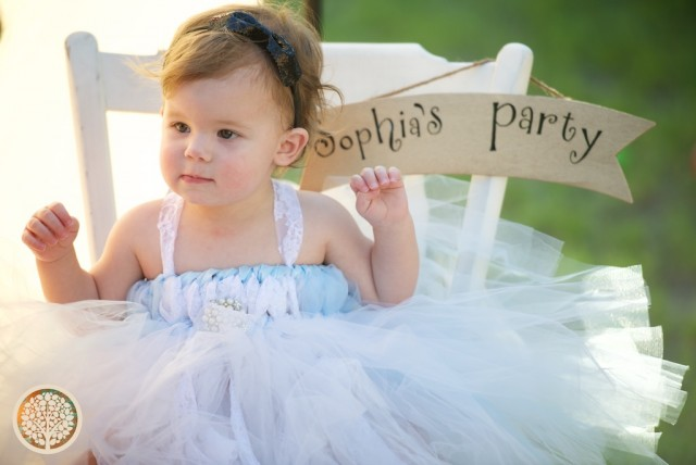 Sophia's first birthday